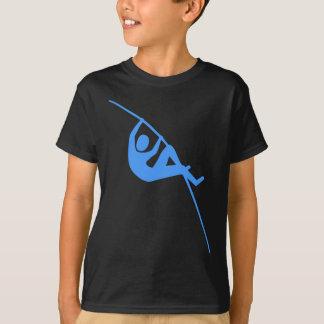 Saut à la perche - bleu layette t-shirt