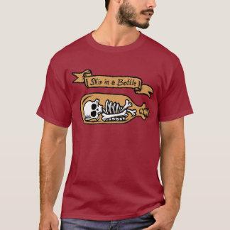 Saut dans une chemise de bouteille t-shirt