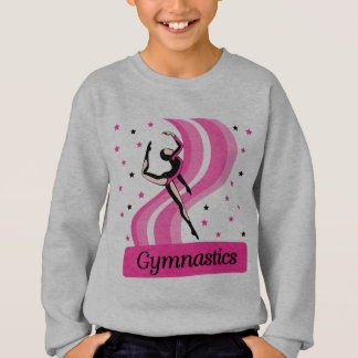 Saut de gymnastique sweatshirt