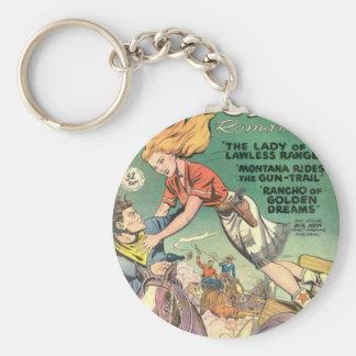 Saut de la cow-girl porte-clés
