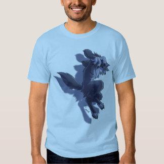 Saut de loup-garou t-shirts