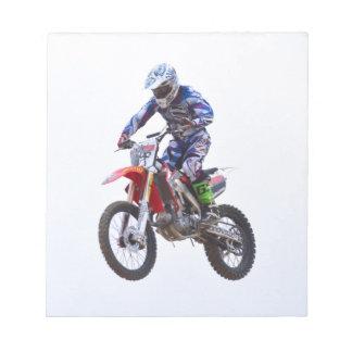 Saut de motocross blocs notes