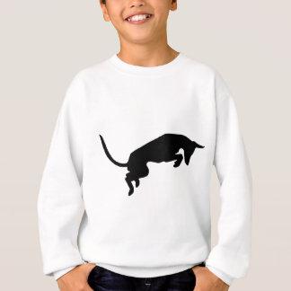 sautant le chien ibizan conçu par Caroline Howlett Sweatshirt