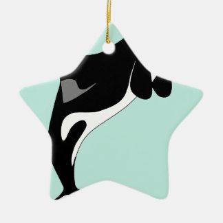 Sauter d'orque ornement étoile en céramique