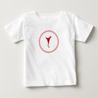 Sautez jamais jamais le jour de jambe t-shirt pour bébé