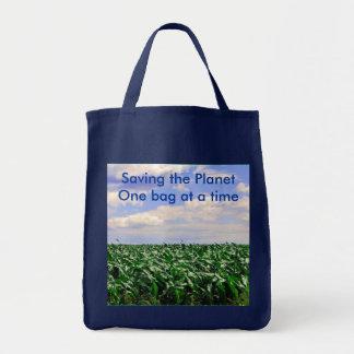 Sauvegarde du sac d'épicerie de planète