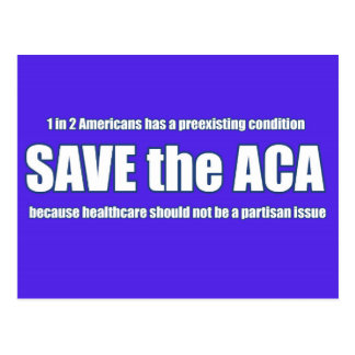 Sauvez la carte postale d'ACA