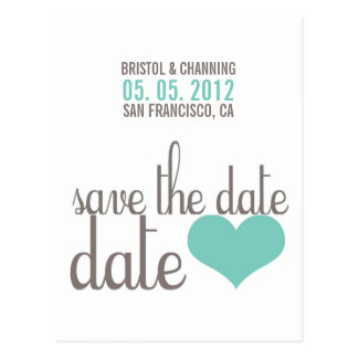 SAUVEZ la carte postale de DATE