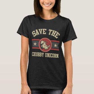 Sauvez la licorne potelée t-shirt