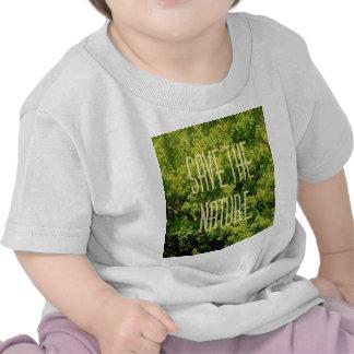 sauvez la nature, t-shirts