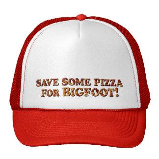Sauvez la pizza pour BIGFOOT - casquette de