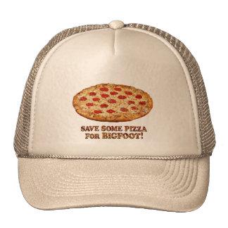 Sauvez la pizza pour BIGFOOT - vêtements multi Casquettes De Camionneur