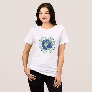 Sauvez la planète attaquent l'atout t-shirt