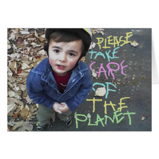 Sauvez la planète cartes