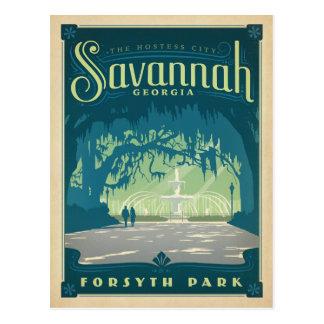 Sauvez la savane de la date |, GA Carte Postale