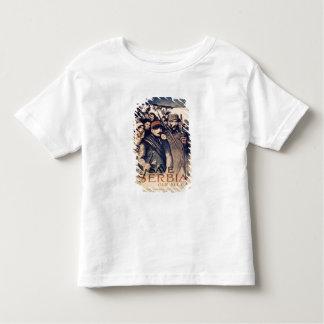 """""""Sauvez la Serbie notre allié"""", l'affiche, 1915 T-shirt Pour Les Tous Petits"""