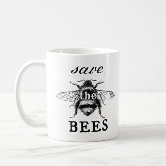 Sauvez la tasse d'abeilles - ambiante - jour de la