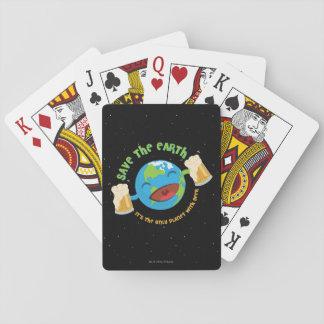 Sauvez la terre jeu de cartes