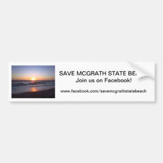 Sauvez l'adhésif pour pare-chocs 2 de SB de McGrat Autocollant Pour Voiture