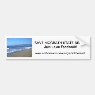Sauvez l'adhésif pour pare-chocs 3 de SB de McGrat Autocollant De Voiture