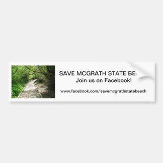 Sauvez l'adhésif pour pare-chocs 4 de SB de McGrat Autocollant Pour Voiture