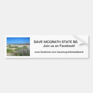 Sauvez l'adhésif pour pare-chocs 5 de SB de McGrat Autocollant De Voiture