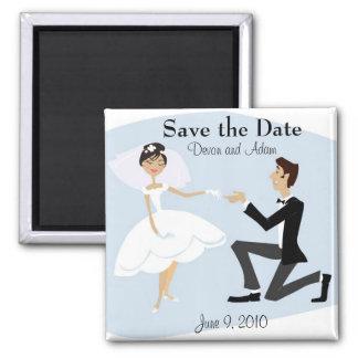 Sauvez l'aimant de date