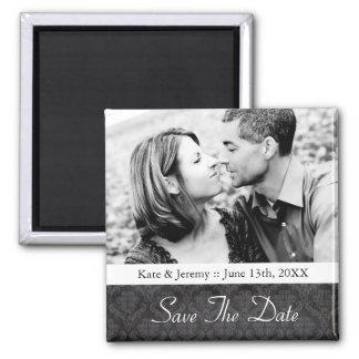 Sauvez l'aimant de mariage de photo de date