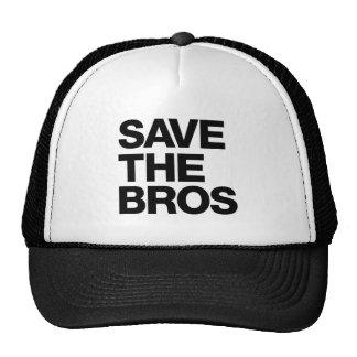 Sauvez le casquette de Bros - noir