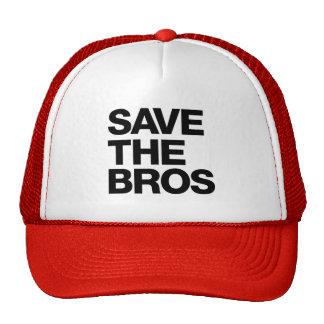 Sauvez le casquette de Bros - rouge