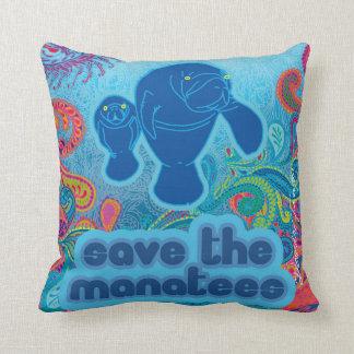 Sauvez le coussin de lamantins