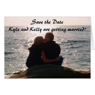 Sauvez le DateKyle et Kelly sont getti… Cartes