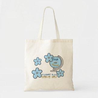 Sauvez le globe de jour de la terre de planète sacs