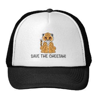 Sauvez le guépard casquette de camionneur