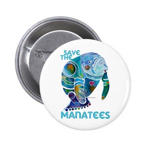 Sauvez le lamantin badge