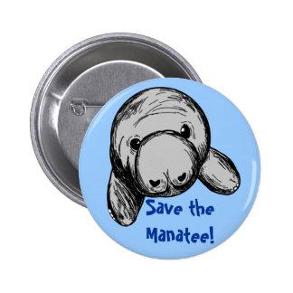 Sauvez le lamantin ! pin's