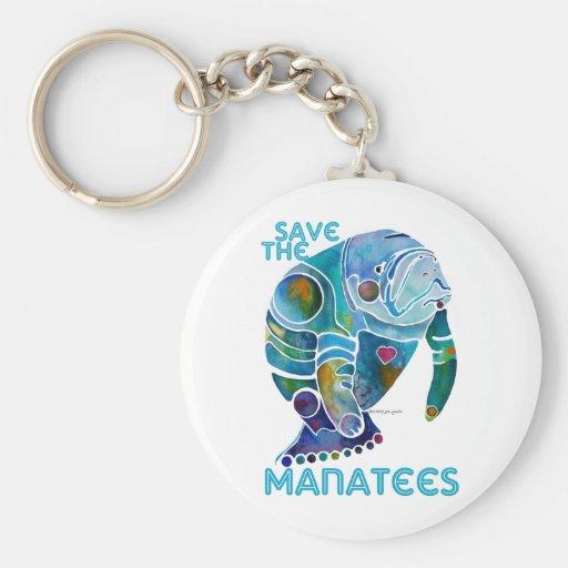 Sauvez le lamantin porte-clef