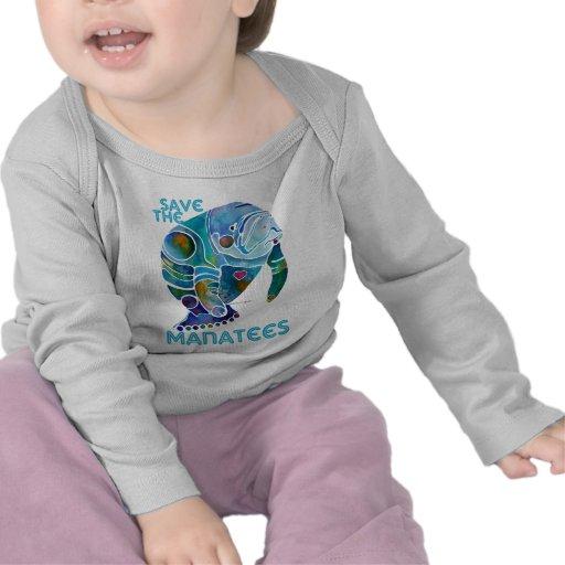 Sauvez le lamantin t-shirt