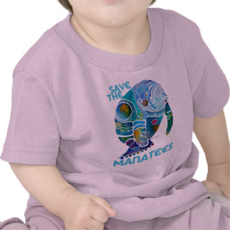 Sauvez le lamantin t-shirts