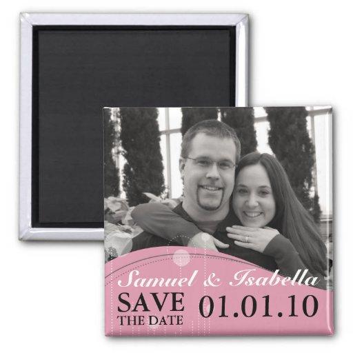Sauvez le magnet de date aimant