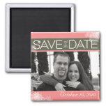 Sauvez le magnet de date aimants