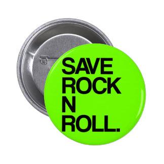 Sauvez le petit pain de la roche N Badge