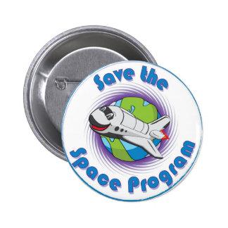 Sauvez le programme spatial badges