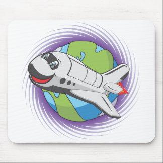 Sauvez le programme spatial tapis de souris