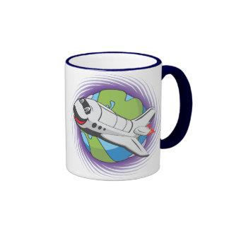 Sauvez le programme spatial tasses à café