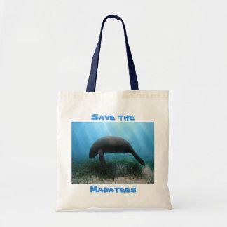 Sauvez le sac de voyage de lamantins