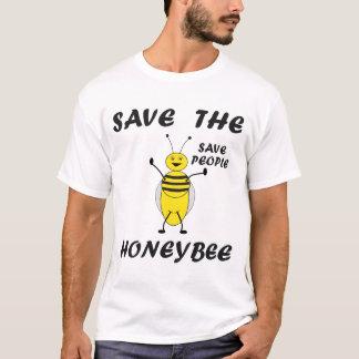 Sauvez le T-shirt d'abeille
