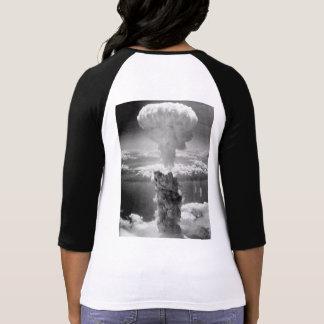 Sauvez le T-shirt d'arme nucléaire d'humains