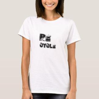 SAUVEZ le T-shirt de la TERRE réutilisent la fac