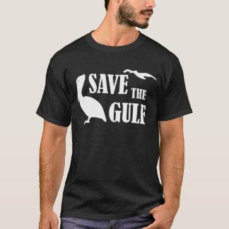 Sauvez le T-shirt noir des hommes de faune de
